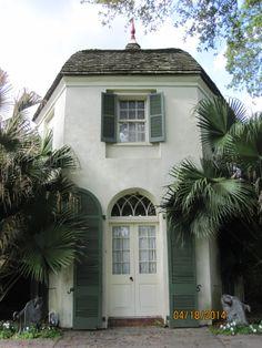 Garconnniere at the Houmas House Plantation and Gardens in Darrow, Louisiana