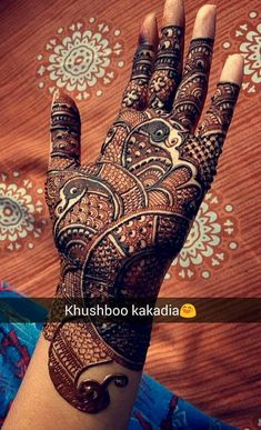 Peacock Mehndi Designs - 31 Unique Designs To Try In 2019 – Lifestyle Peacock Mehndi Designs, Full Hand Mehndi Designs, Mehndi Designs For Beginners, Modern Mehndi Designs, Dulhan Mehndi Designs, Mehndi Design Pictures, Wedding Mehndi Designs, Mehndi Designs For Fingers, Latest Mehndi Designs