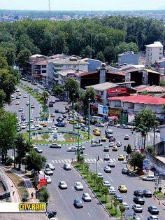Golsar Square, Rasht, Guilan, Iran  pin from: http://www.rashtbest.blogfa.com/