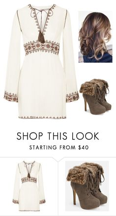 """""""who loves this?"""" by brooklynqueen04 ❤ liked on Polyvore featuring beauty, Talitha and JustFab"""