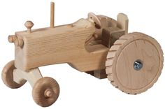 Amish Wooden Toy Tractor