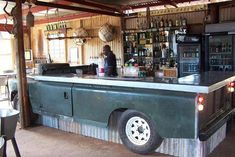 Probably the best bar in the world! SHARE this, for Land Rover!