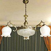 american style landlig 6 ned lys lysekrone i ... – NOK kr. 1.997