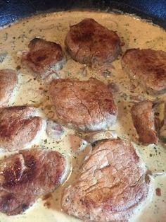 Lende mit Pilz-Sahnesauce in 10 Minuten, ein schmackhaftes Rezept aus der Kategorie Pilze. Bewertungen: 1. Durchschnitt: Ø 3,3.