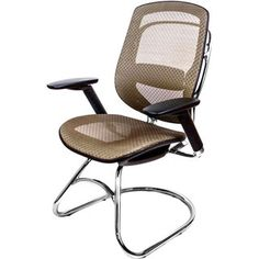 @Overstock - AtTheOffice One Series Guest Chair - Make an impression on your guest as you invite them to sit in this chair that feels as good as it looks. Designed with sculptured lines of cast aluminum and polished to a rich finish, this is truly a stand-out designer style chair.  http://www.overstock.com/Office-Supplies/AtTheOffice-One-Series-Guest-Chair/9332664/product.html?CID=214117 $474.00