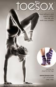 Now that makes toe socks more interesting!!