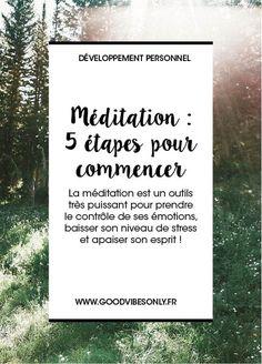 LA MEDITATION ; PAR OÙ COMMENCER ? – Good Vibes Only