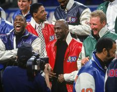 1997 | Magic, Doctor, MJ, & Larry