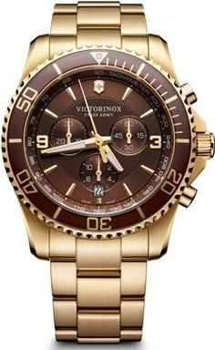 Victorinox Swiss Army Watch Maverick Chronograph #bezel-unidirectional #bracelet-strap-gold-pvd #brand-victorinox-swiss-army #case-material-gold-pvd #case-width-43mm #chronograph-yes #classic #date-yes #delivery-timescale-call-us #dial-colour-brown #gender-mens #movement-quartz-battery #official-stockist-for-victorinox-swiss-army-watches #packaging-victorinox-swiss-army-watch-packaging #style-sports #subcat-maverick #supplier-model-no-241691…