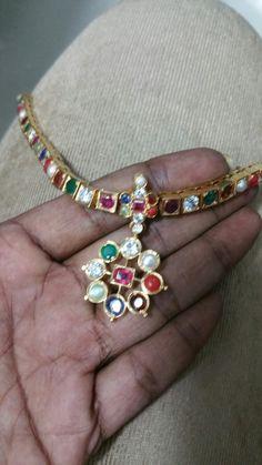 An antique navaratna piece