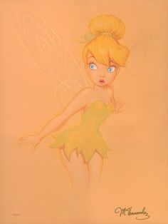 , Original animation art giclee on canvas of Tinkerbell from Disney Studios. This page links to our main page which has over 5000 pieces of animation art from Disney, Simpsons, Warner, etc. Hades Disney, Tinkerbell 3, Disney Fairies, Tinkerbell Drawing, Disney Drawings, Cartoon Drawings, Drawing Disney, Disney Fine Art, Doodle Inspiration