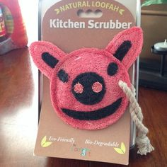 Natural Loofah Kitchen Scrubber Eco-friendly bio- degradable loofah is all surface safe gentle enough to clean fruits and vegetables and to enough to clean pots,pans and soiled dishes  a must have in your kitchen. Loofah Art Other