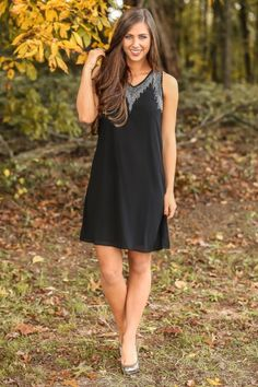 The perfect holiday party dress! LBD alert! Look absolutely stunning at your next event! Love!