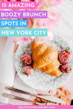 raveling to New York City but have no idea where to go for brunch? Then check out this local's guide to 15 amazing, and somewhat secret, places where you can sit back, relax, and enjoy the best boozy brunch in NYC. Eurotrip, New York Travel, Paris Travel, Usa Travel, Travel Tips, Travel Goals, France Travel, Brunch Nyc, Hotel Des Invalides