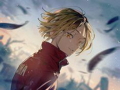 Haikyuu Nekoma, Kenma Kozume, Kuroken, Haikyuu Fanart, Karasuno, Kageyama, Haikyuu Anime, Haikyuu Characters, Anime Characters