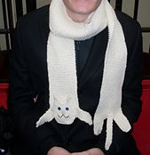 Ravelry: Knitted Longcat Scarf pattern by Miss Sapphy