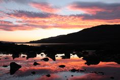 Sunset in Mull, Scotland; Isle of Mull, United Kingdom, Travel