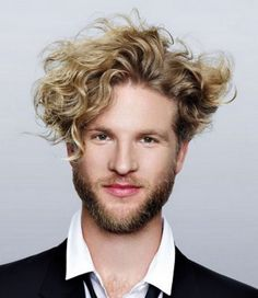 Curly Hairstyles For Men New Hair Trends