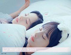 WJSN ♡ SeolA 설아 (Kim Hyunjung 김현정) & Bona 보나 (Kim Jiyeon 김지연) [GIF] #설아기 #떨아야 #우주소녀