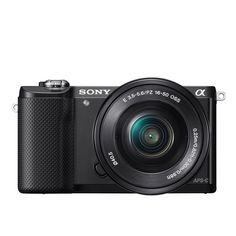 """Sony A5000 - Cámara réflex digital de 20.1 MP (pantalla articulada 3"""", estabilizador, vídeo Full HD, WiFi), color negro: Sony: Amazon.es: Electrónica"""