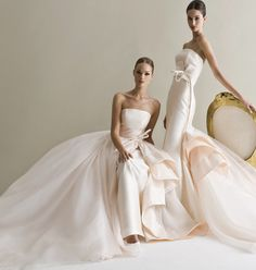 Bold, Creative and Modern Antonio Riva Wedding Dresses: http://www.pinterest.com/modwedding/wedding-dresses/  #wedding #weddings #weddings_dress