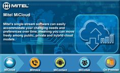#Mitel MiCloud single-stream software can easily accommodate your changing needs and preferences over time. pic.twitter.com/KWjNdzj6Hi