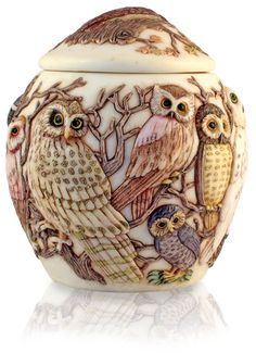 Beautiful owl vase. Love this!