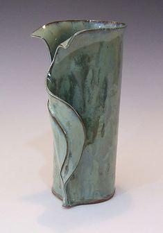 Hand Built Pottery, Slab Pottery, Pottery Vase, Clay Vase, Ceramic Vase, Beginner Pottery, Slab Ceramics, Pottery Handbuilding, Pottery Designs