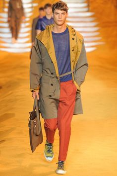 Fendi Spring 2014 Menswear Collection on Style.com: Runway Review