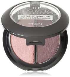 L'Oreal Paris HiP Studio Secrets Professional Metallic Eye Shadow Duos, Sculpted, 0.08 Ounces - Listing price: $7.25 Now: $6.10