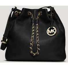 fb7ce4b0d735 Still can t bleev my babe bought this for me❤ ❤ ❤ ❤ ❤️MICHAEL Michael Kors  Frankie Large Drawstring Shoulder Bag. Fatima Hijab