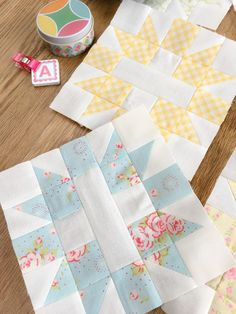 Carried Away Quilting: April Star & Cross blocks: Patchwork Quilt Along with Fat Quarter Shop Quilt Block Patterns, Pattern Blocks, Quilt Blocks, Pants Pattern, Dress Patterns, Quilt Kits, Quilting Tutorials, Quilting Projects, Quilting Designs