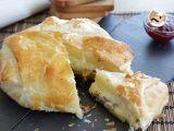 Receta Hojaldre de camembert y manzana