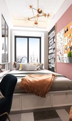 Small Room Design Bedroom, Small House Interior Design, Bedroom Furniture Design, Home Room Design, Modern House Design, Room Ideas Bedroom, Bed Room, Bedroom Decor, Dressing Room Design