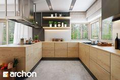 Dom pod jarząbem 17 (N) - zdjęcie od ARCHONhome - Kuchnia - Styl Skandynawski - ARCHONhome