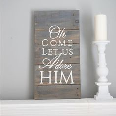 Oh come let us adore Him. #welovechristmas #besttimeoftheyear #advent