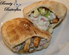 Pita-Taschen mit Geflügel | Beauty Butterflies