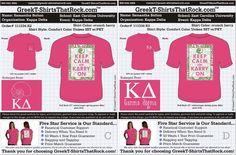 Lilly love XOXO Kappa Delta  http://www.greekt-shirtsthatrock.com/