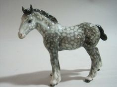 VINTAGE BESWICK HORSE #1053 FOAL, ROCKING HORSE GREY (416)