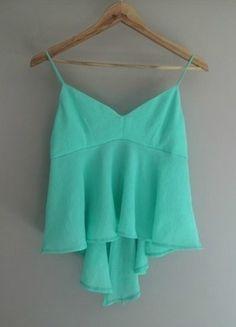 Kup mój przedmiot na #Vinted http://www.vinted.pl/kobiety/koszulki-na-ramiaczkach-koszulki-bez-rekawow/9492796-zara-mint-wb-collection