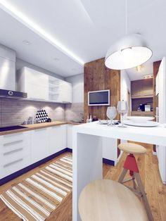 Kis étkező, reggeliző hely ötletek konyhában - példák, helykihasználás, kialakítás