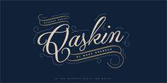 Qaskin Black Personal Use font by Måns Grebäck - FontSpace