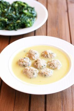 This is my Greece | Youvarlakia are meatballs made with ground beef, rice, and herbs. They are cooked in stock and then thickened with avgolemono sauce.
