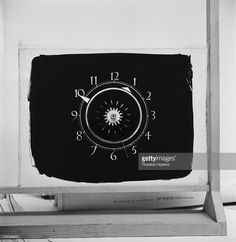 The clock face used in early broadcasts by the Associated-Rediffusion TV company, September 1955. From a Picture Post magazine preview of the first week of programming on Independent Television (ITV), The ITV service is due to open in the London area, on 22nd September 1955, with the opening night jointly presented by the regional franchise holders, Associated-Rediffusion and Associated TeleVision, (ATV). Original Publication: Picture Post - 8008 - The Opening Night - pub. 24th September…