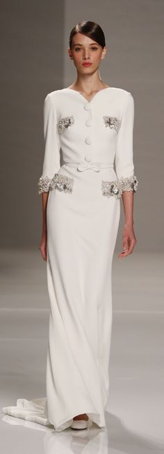 Georges Hobeika Couture Spring-Summer 2015. This is so  elegantly sophisticated, I adore it.