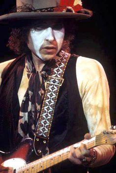 Bob Dylan, on The Rolling Thunder Revue, by Ken Regan