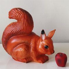 Heico squirrel lamp - 28cm
