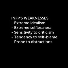"I read the last one as ""Prone to procrastination"", no kidding. Infp Personality Type, Personality Psychology, Myers Briggs Personality Types, Psychology Quotes, Infp Quotes, Personality Profile, Infj Infp, Isfj, Look Here"
