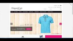 Responsive OpenCart Theme ElegantCart - A Premium