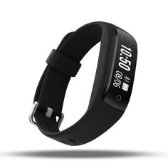 AOKII Heart Rate Monitor,Wirless Fitness Tracker,Sport Wristband with Multi-Functions Activity Smart Bracelet Pedometer Watch - Fitness Helping Center Tracker Fitness, Best Fitness Tracker Watch, Waterproof Fitness Tracker, Activity Tracker Watch, Fitness Watches For Women, Sport Armband, Running Watch, Smart Bracelet, Workout Accessories